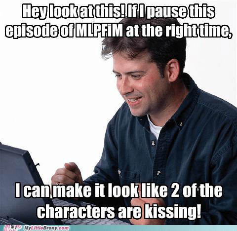 animation canon kissing meme net noon stop it - 5660245760