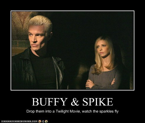 Buffy Buffy the Vampire Slayer james marsters Sarah Michelle Gellar sparkles spike - 5660622080