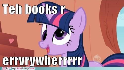books derp ponies twilight sparkle - 5660788992