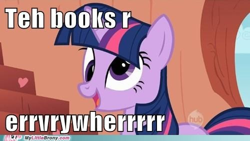 books derp ponies twilight sparkle - 5660788992