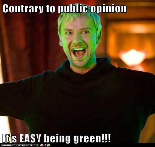 doctor who easy green john simm kermit the frog the master - 5661025536