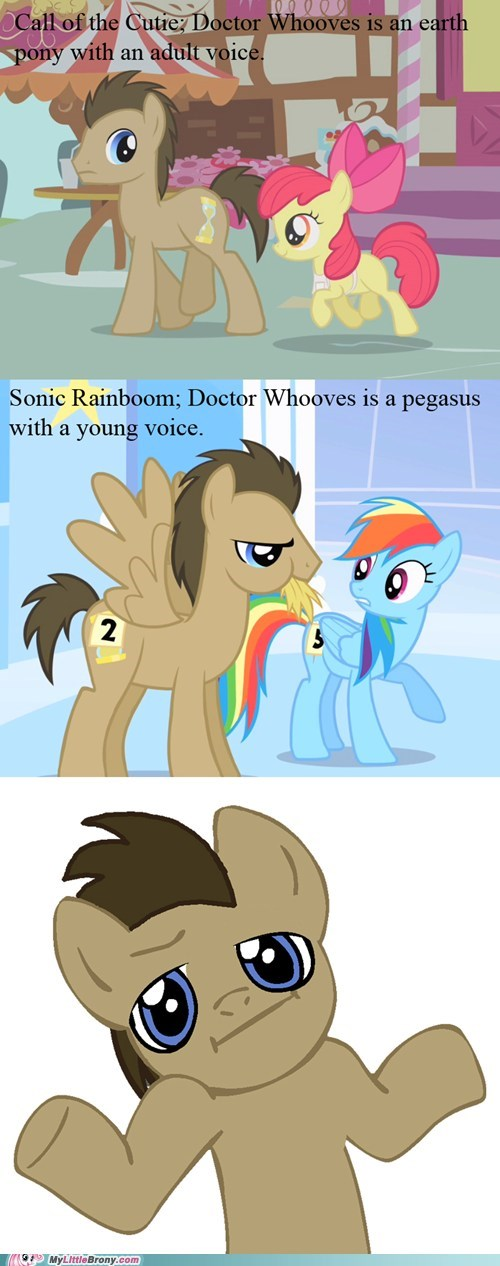 comic doctor whooves earth pony pegasus TV - 5661058560