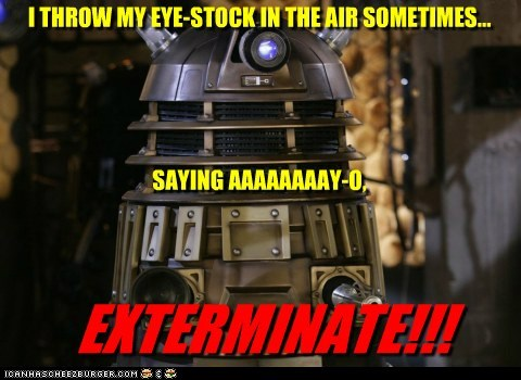 ayo dalek doctor who dynamite Exterminate eye taio cruz - 5661517824