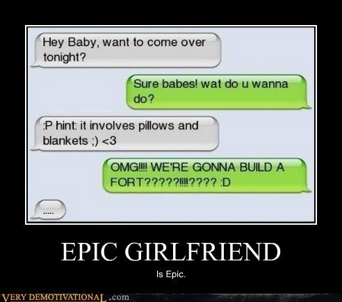 epic gf hilarious pillow fort - 5661544960