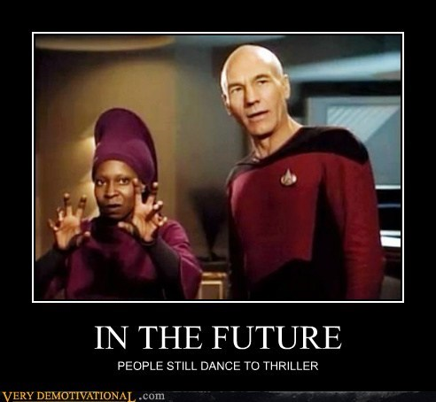 future hilarious Star Trek thriller