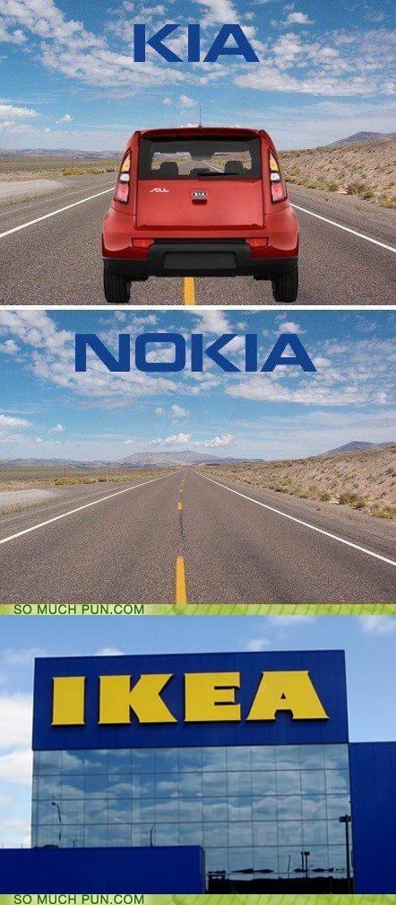 brand brands homophone ikea inside joke kia nokia phone Reddit Reframe suffix - 5662315264