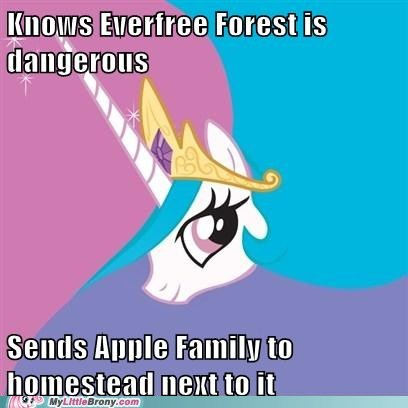 alicorn Apple Family best of week celestia meme trollestia - 5662570752