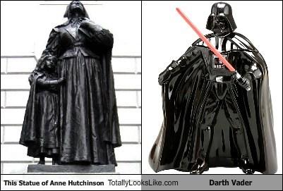 anne hutchison darth vader funny statue TLL - 5662701056