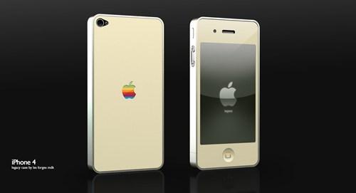 apple,iphone 4,iphone case,mac classic,merch,retro,Tech