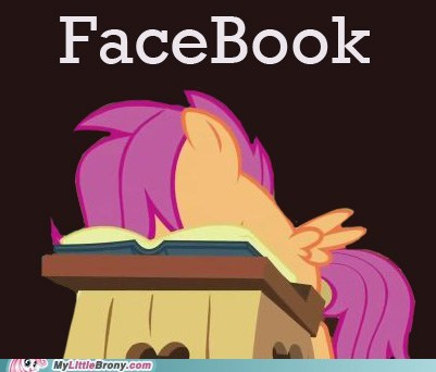 cheerilee class facebook meme Scootaloo - 5663199232