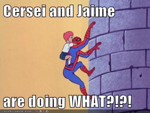brann cersei lannister Jamie Lannister Spider-Man Super-Lols - 5663276800