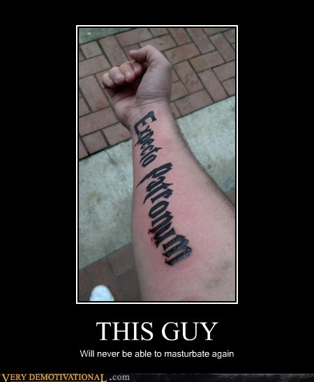 expecto patronum fapping Harry Potter hilarious tattoo - 5663789568