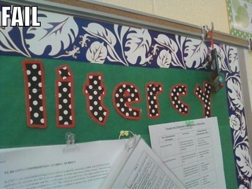illiterate irony school spelling - 5663978240