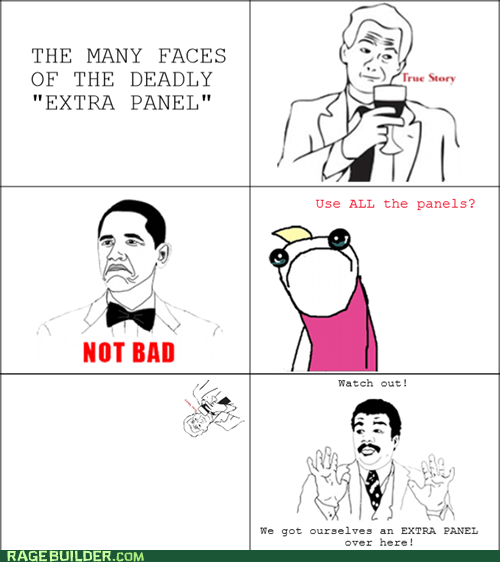 all the things,extra panel,not bad,Rage Comics