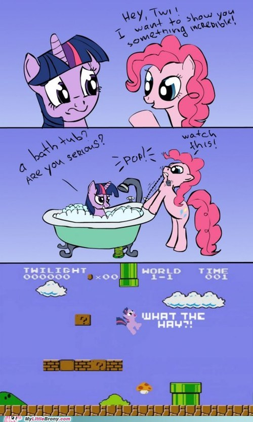 best of week comics crossover mario pinkie pie twilight sparkle what the hay - 5664233728