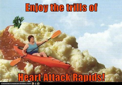 Enjoy the trills of Heart Attack Rapids! - Historic LOLs