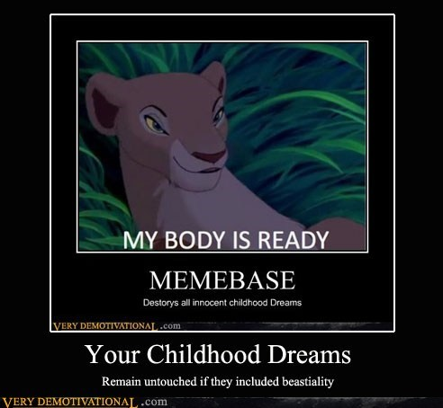 childhood dreams hilarious horse love lion king - 5664412416
