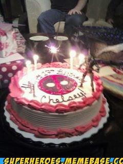 cake deadpool food Random Heroics - 5664473856