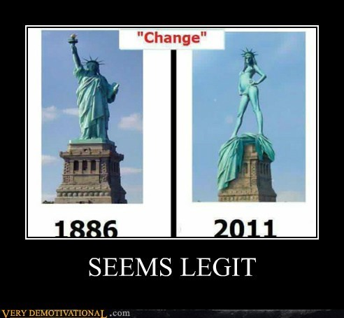 hilarious seems legit Sexy Ladies Statue of Liberty - 5664563968