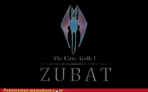 cave trolls crossover Skyrim zubat - 5665377792