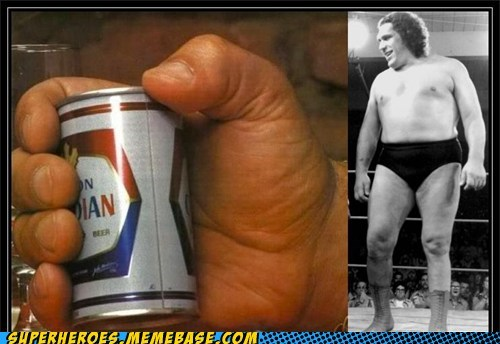 andre the giant beer huge Random Heroics Super