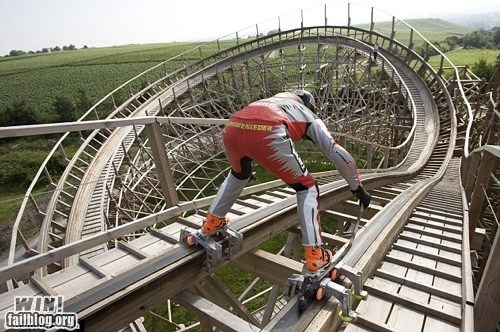 g rated luge modified roller coaster sports track whee win - 5666851840