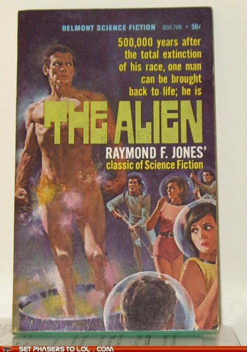 alien book covers books cover art man science fiction women wtf - 5668203008