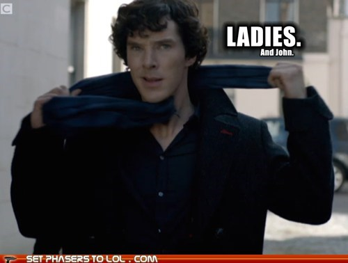 bbc bennedict cumberbatch john ladies sherlock bbc sherlock holmes Watson - 5668688640