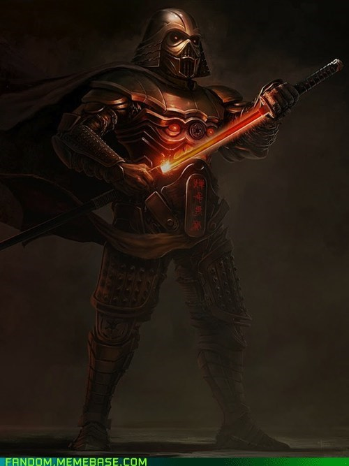 best of week darth vader Fan Art fandom samurai star wars - 5668777728
