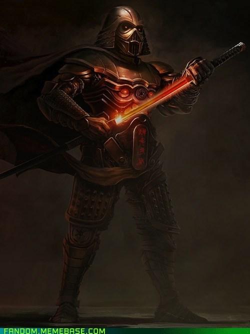 best of week darth vader Fan Art fandom samurai star wars - 5668777728