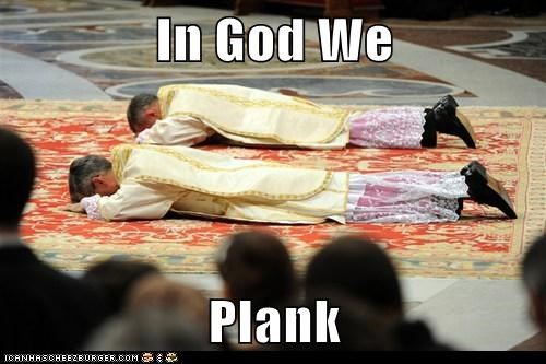 In God We Plank