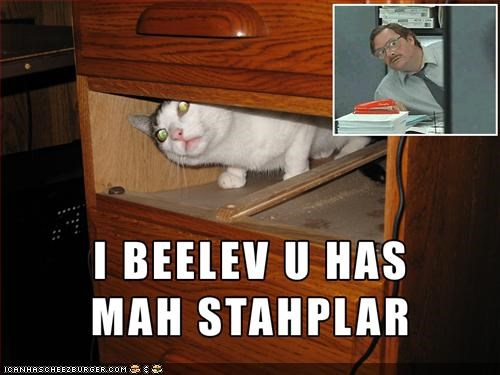 film,lolcats,melvin,movies,Office Space