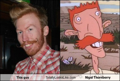 funny guy hipster nigel thornberry TLL