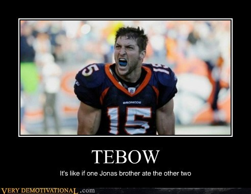 football hilarious sooper bowl tebow - 5670045952