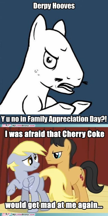 cherry coke derpy hooves family appreciation day meme - 5670155520
