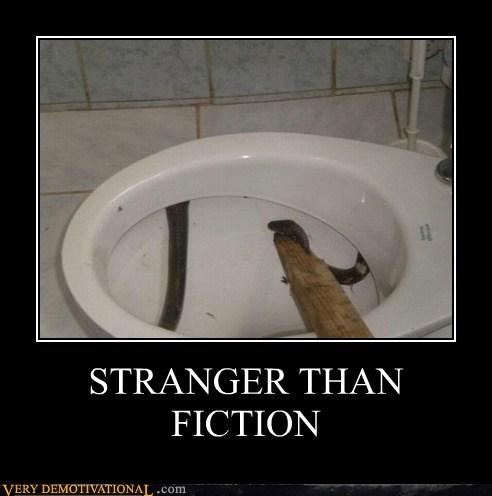 hilarious snake stick toilet wtf - 5670162176
