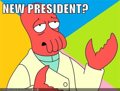 president Why Not Zoidberg