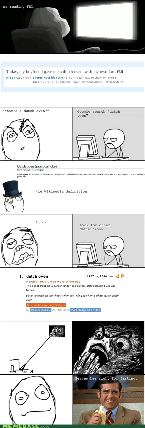 dutch oven farts Rage Comics relationships - 5670366976