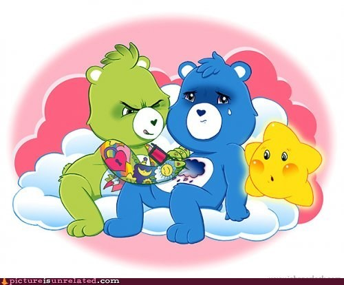 best of week care bears cartoons tattoo wtf