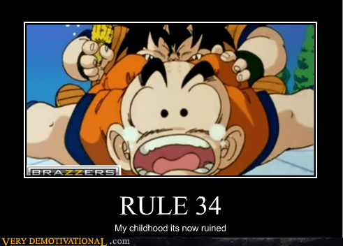 childhood Dragon Ball Z hilarious Rule 34