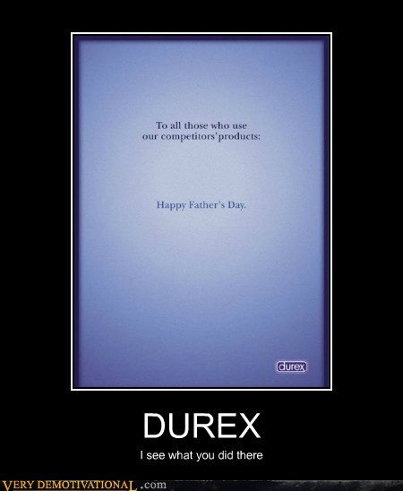 Ad condoms durex Hall of Fame happy-fathers-day hilarious - 5670776576