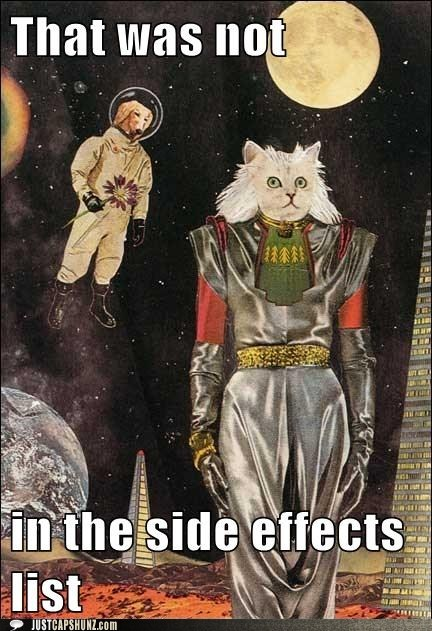 caption contest,cat,dogs,idgi,intergalactic,mixed media,outer space,side effects,whats-going-on-here,whoa,wtf