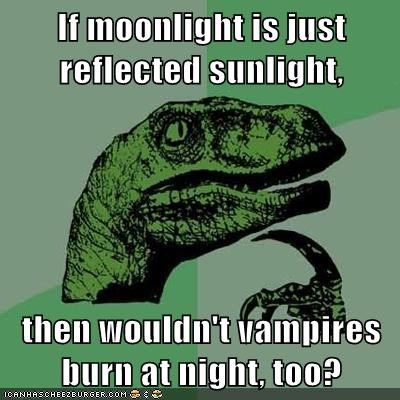 light moon philosoraptor sunlight vampires