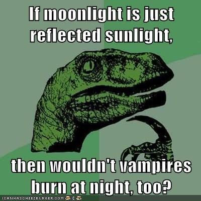 light moon philosoraptor sunlight vampires - 5670950144