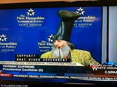 candidates election 2012 political pictures third party vermin supreme - 5670966784