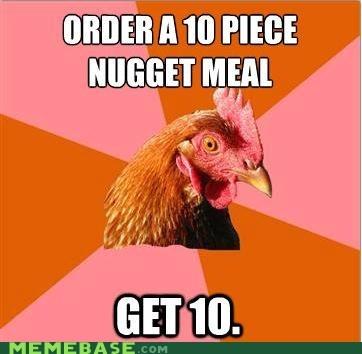 10 Anti-Joke Chicke anti joke chicken nuggets - 5670981376
