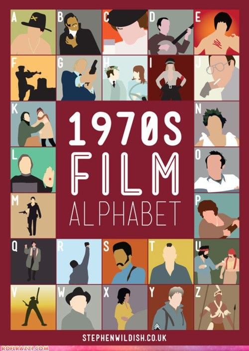 1970s,alphabet,art,cool,film