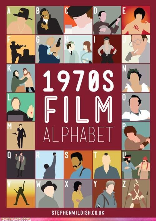 1970s alphabet art cool film - 5671133952