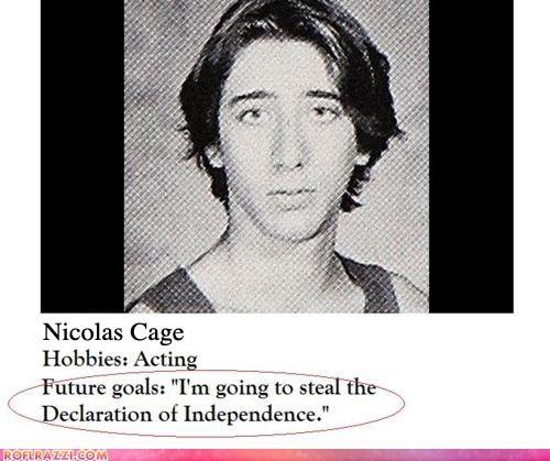 actor celeb funny Hall of Fame nic cage nicolas cage - 5671520256