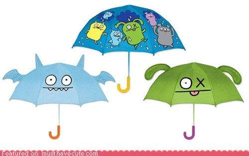 best of the week icebat print uglydoll umbrella wings - 5671522304